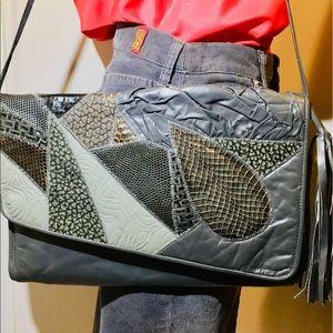 Handbags - Gray Shoulder Clutch Style Bag